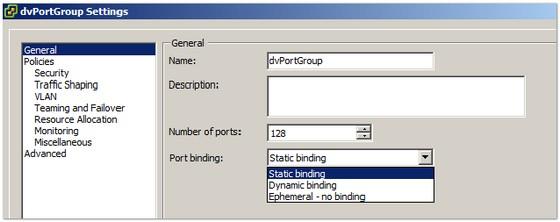 dvswitch-port-binding